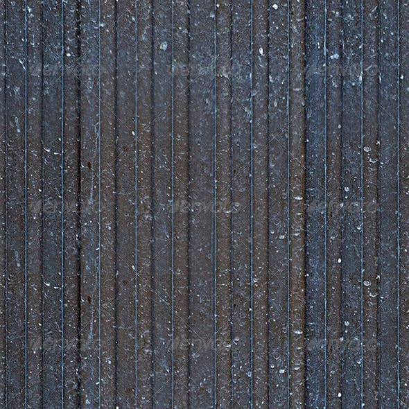 Corrugated Metal Seamless Texture