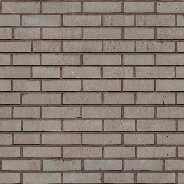 Seamless Brick wall w/ all maps for 3D texturing