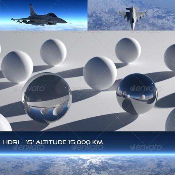 HDRi SkyMap Altitude 15-15000