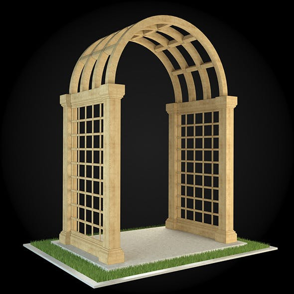 Pergola 001 - 3DOcean Item for Sale