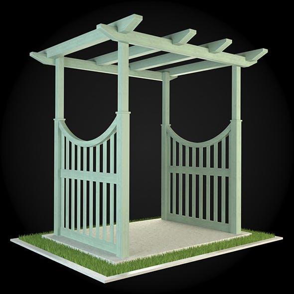 Pergola 004 - 3DOcean Item for Sale