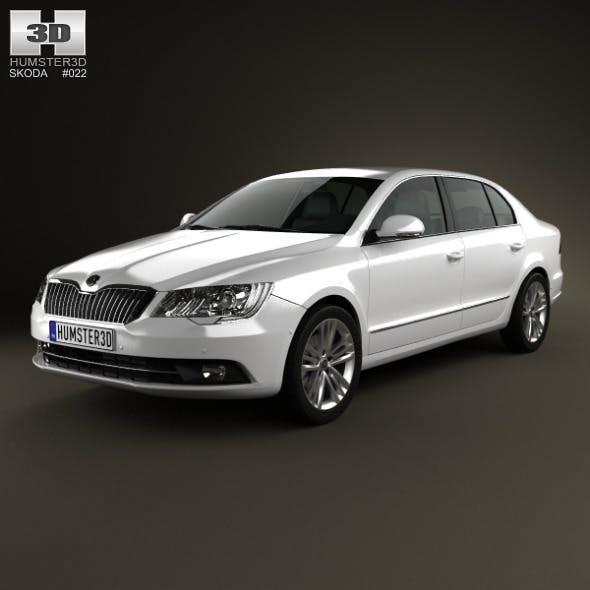 Skoda Superb 2014 - 3DOcean Item for Sale