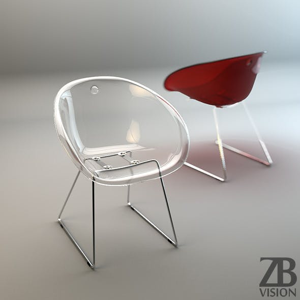 Gliss 921 Chair - 3DOcean Item for Sale