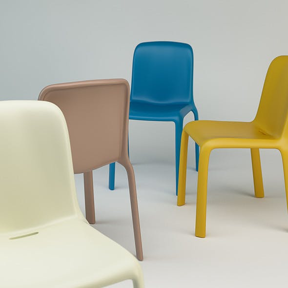 Snow Chair V300 - 3DOcean Item for Sale