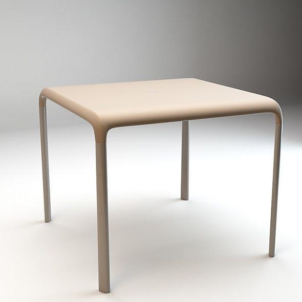 Snow Table v 301 - 3DOcean Item for Sale