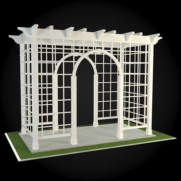 Pergola 014 - 3DOcean Item for Sale