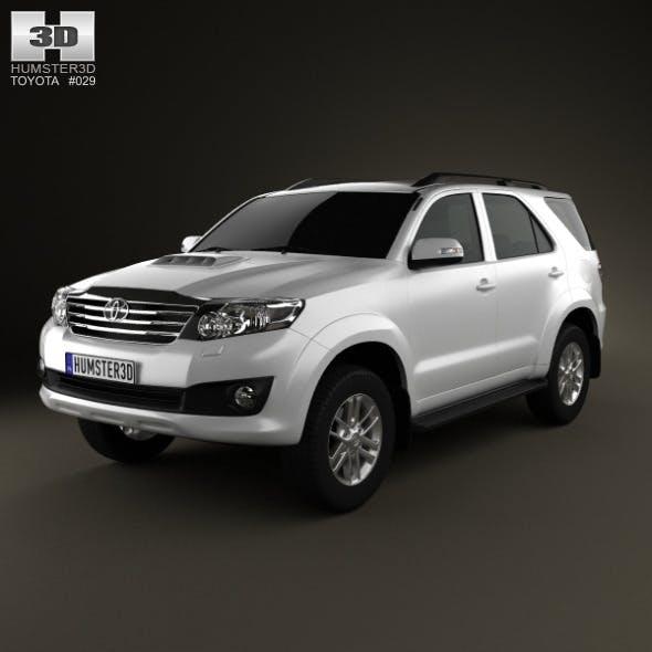 Toyota Fortuner 2012 - 3DOcean Item for Sale