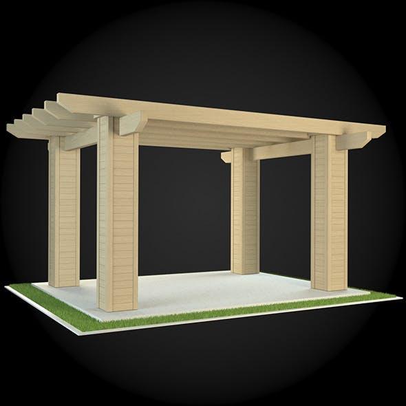 Pergola 022 - 3DOcean Item for Sale