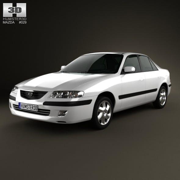 Mazda 626 (GF) sedan 1998