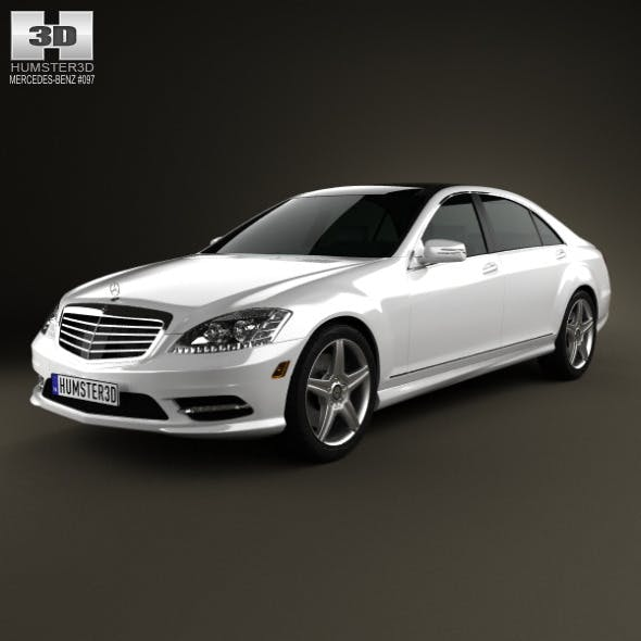 Mercedes-Benz S-Class (W221) 2012 - 3DOcean Item for Sale