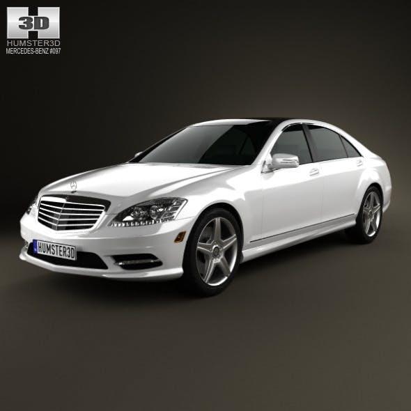 Mercedes-Benz S-Class (W221) 2012