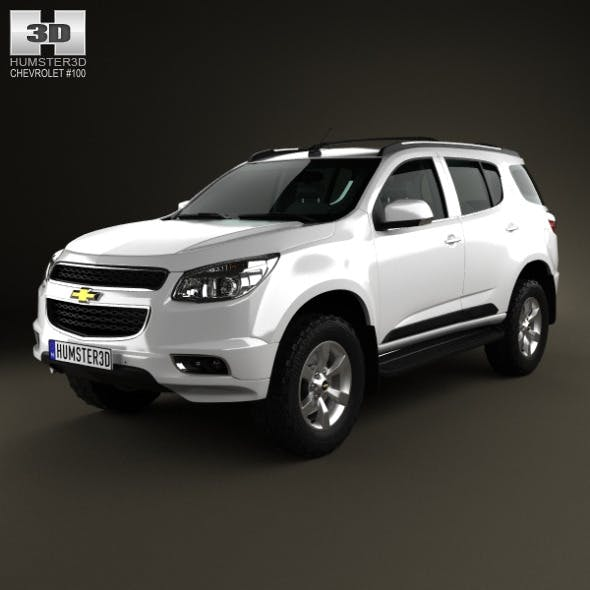 Chevrolet Trailblazer 2012 - 3DOcean Item for Sale