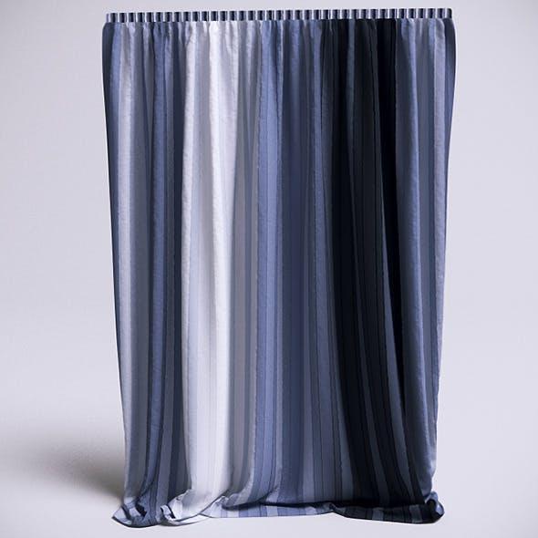 Curtain - 3 (VrayC4D) - 3DOcean Item for Sale