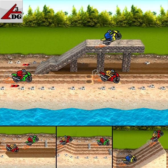 Speedway Motorcycle...  - 3DOcean Item for Sale