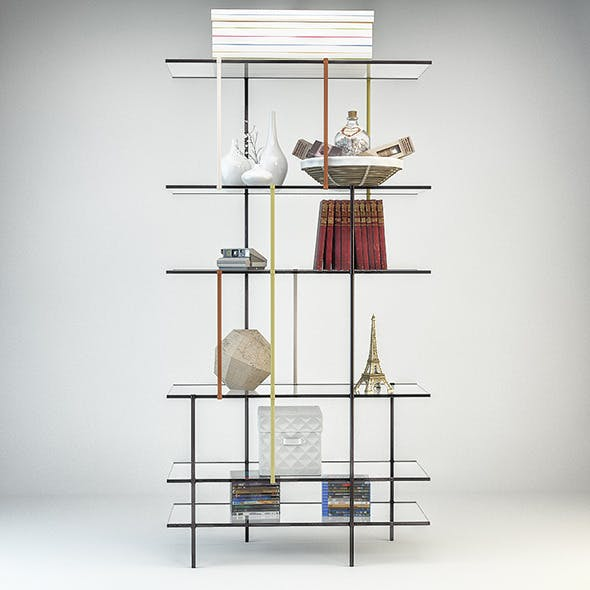Drizzle Shelves by Gallotti&Radice - 3DOcean Item for Sale