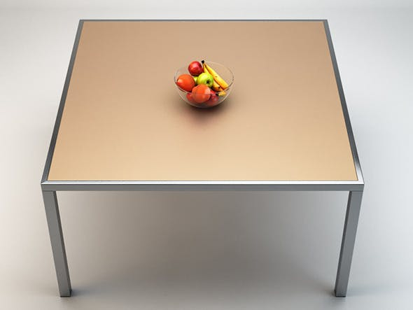 Smart Table by Gallotti&Radice - 3DOcean Item for Sale