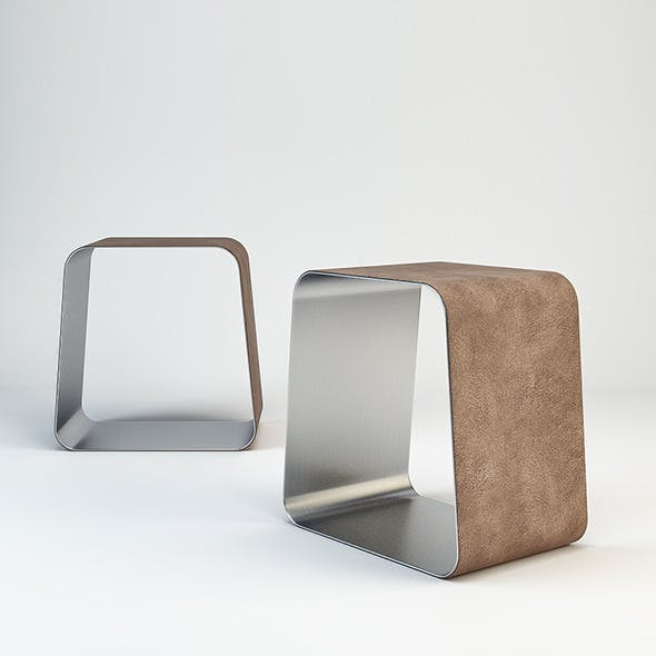 WGS Stool by Gallotti&Radice - 3DOcean Item for Sale