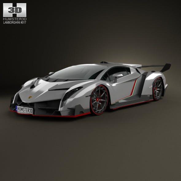 Lamborghini Veneno 2013 - 3DOcean Item for Sale