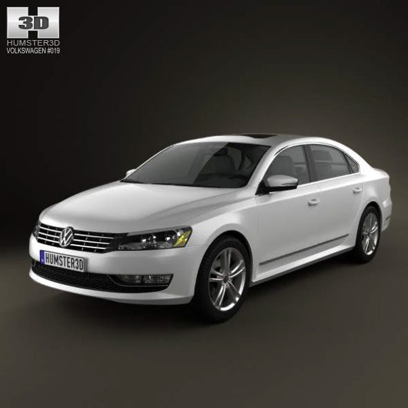 Volkswagen Passat US 2012 - 3DOcean Item for Sale