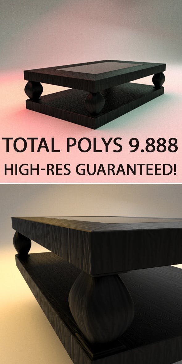 High Class Table - 3DOcean Item for Sale