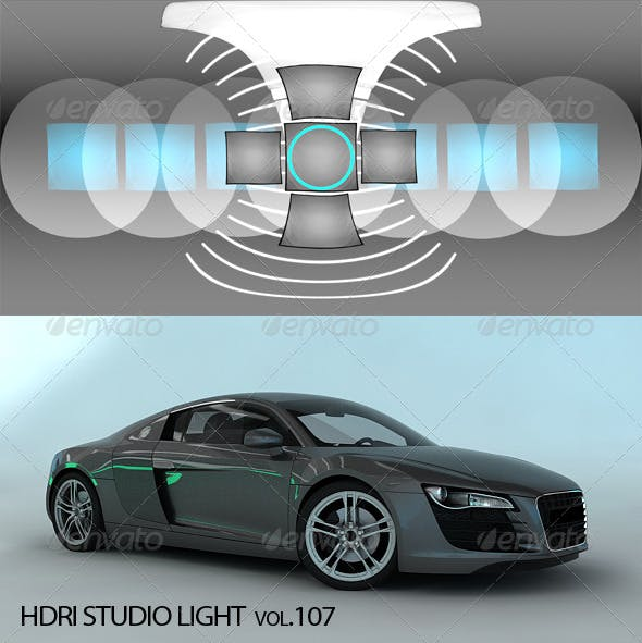 HDRI_Light_107 - 3DOcean Item for Sale