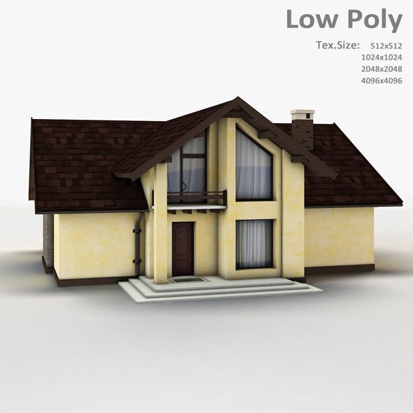 Building 004 - 3DOcean Item for Sale