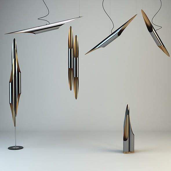 Delightfull - Coltrane Lamps Pack - 3DOcean Item for Sale