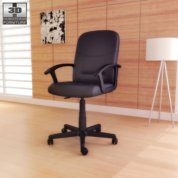 IKEA MOSES Swivel chair - 3D Model. - 3DOcean Item for Sale