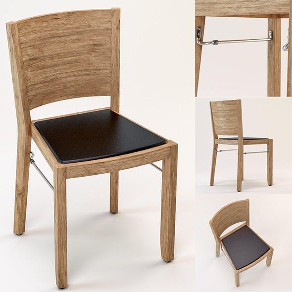Hutten 444 Chair - 3DOcean Item for Sale