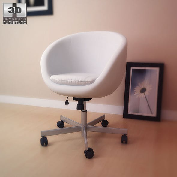 IKEA SKRUVSTA Swivel chair - 3D Model. - 3DOcean Item for Sale