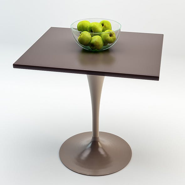 Plastic Table - 3DOcean Item for Sale