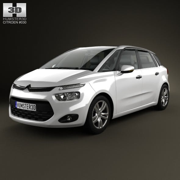 Citroen C4 Picasso 2014 - 3DOcean Item for Sale