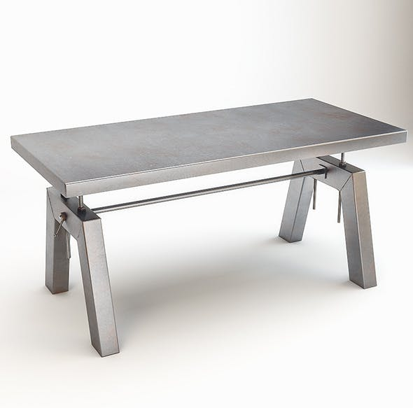 Blackpool T Table by Satelliet - 3DOcean Item for Sale
