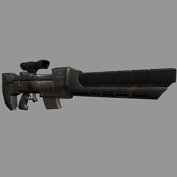 Sci-Fi Gun #3 - 3DOcean Item for Sale