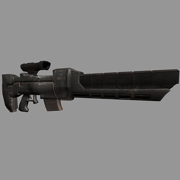 Sci-Fi Gun #3