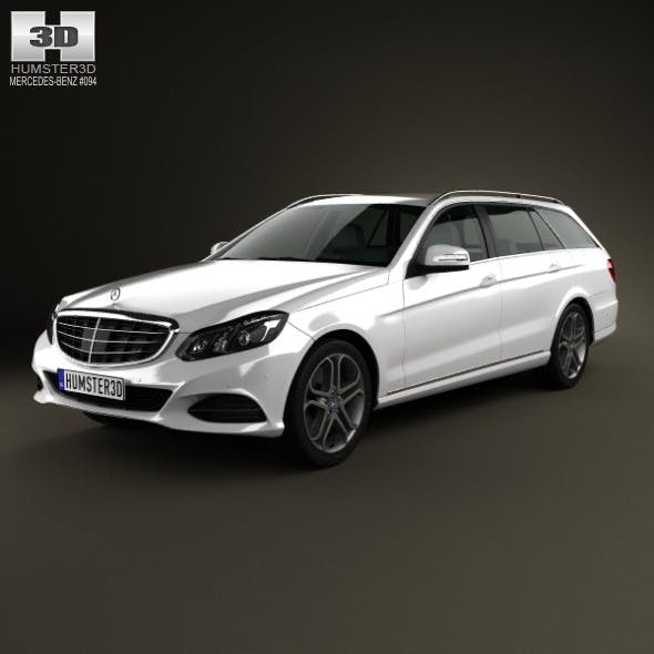 Mercedes-Benz E-Class estate (W212) 2014 - 3DOcean Item for Sale