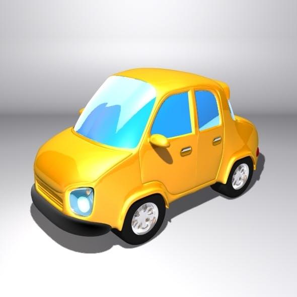 Cartoon City Car - 3DOcean Item for Sale