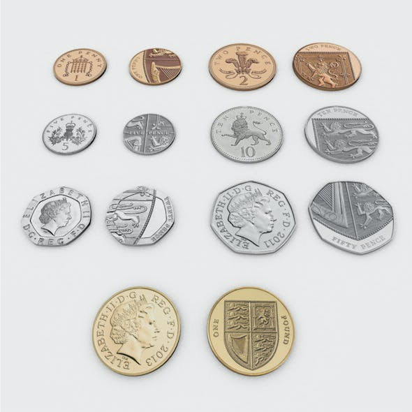 British Pound Sterling Coins