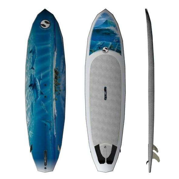 water skateboard - 3DOcean Item for Sale