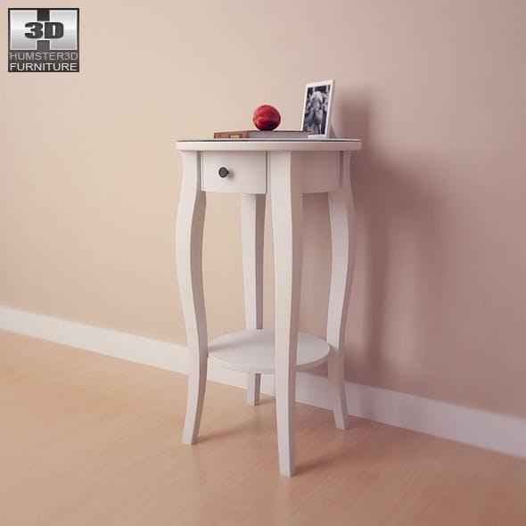 IKEA HEMNES Bedside table - 3D Model.  - 3DOcean Item for Sale