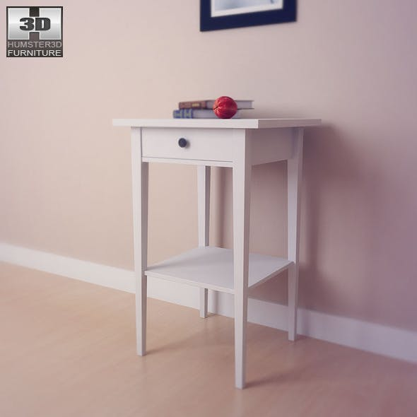 IKEA HEMNES Bedside table 3 - 3D Model.
