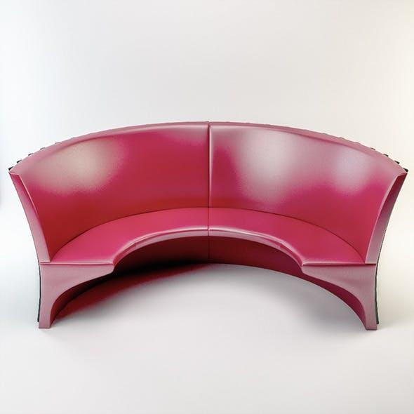 Round Sofa - 3DOcean Item for Sale