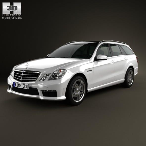 Mercedes-Benz E-class 63 AMG estate 2010 - 3DOcean Item for Sale
