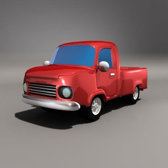 Cartoon Pickup Car