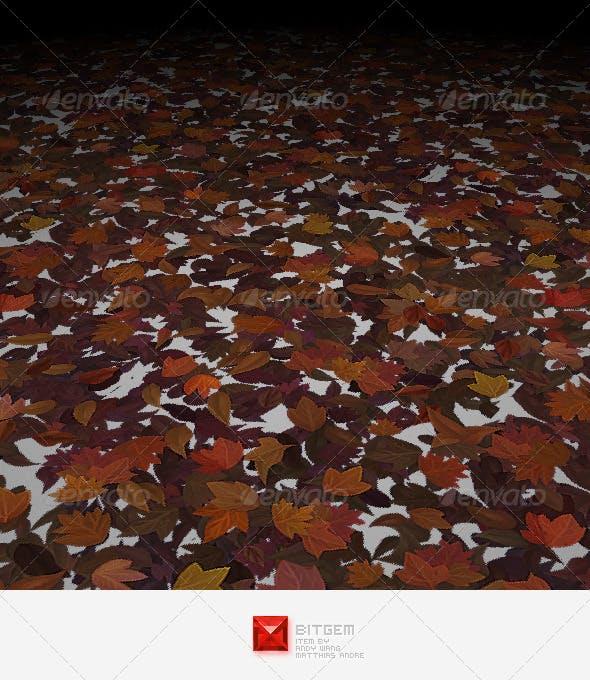 Dead Leaf Texture Set 01 - 3DOcean Item for Sale