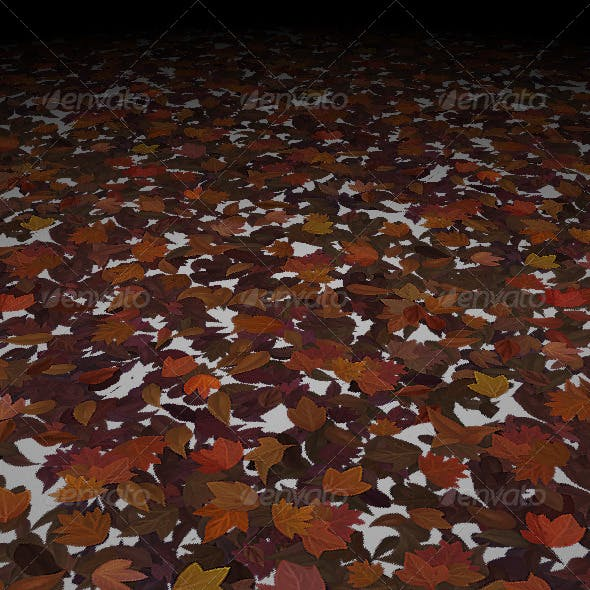 Dead Leaf Texture Set 01