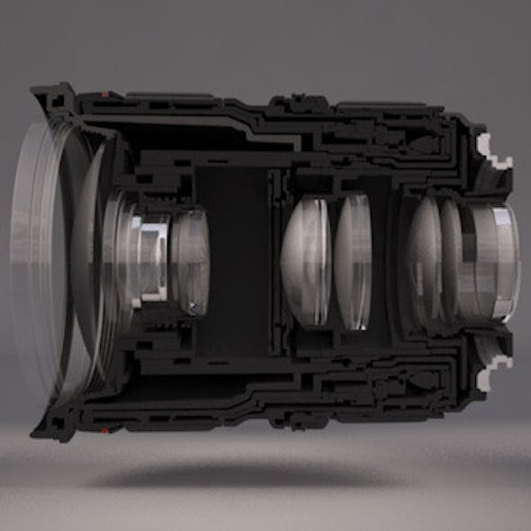 Realistic Lens For Camera