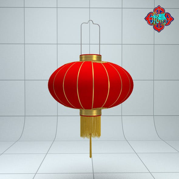 Chinese traditional Lantern A - 3DOcean Item for Sale