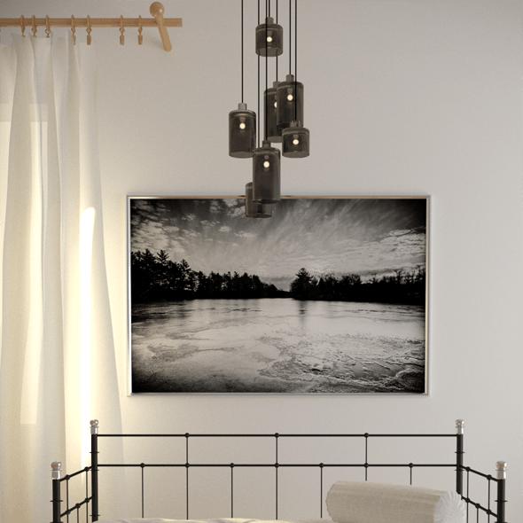Elegant sofa based on IKEA design