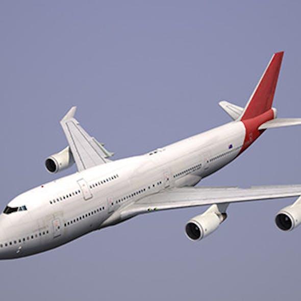 Boeing 747 Qantas